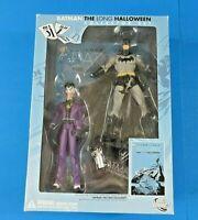 DC DIRECT BATMAN THE LONG HALLOWEEN w JOKER ACTION FIGURE Collector's Set ~ NIB