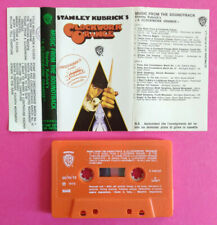 MC Musicassetta Stanley Kubrick's A CLOCKWORK ORANGE Soundtrack ost no cd lp dvd
