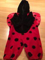 Infant Baby Ladybug Outfit Costume Miniwear Size 3-6 Months