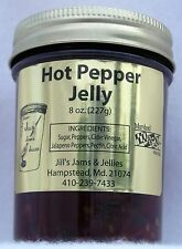 Homemade Hot Pepper Jelly  Two 8-oz jars  Our delicious Jelly is Handmade