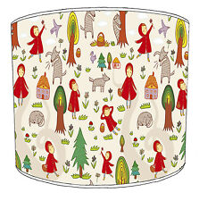 Fairy Tales Story Lampshades Ideal To Match Children`s Duvets Bedding & Curtains
