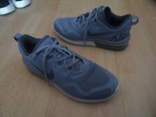 NIKE AIR MAX FURY TRAINERS GREY & WHITE UK SIZE 8 LEFT BUBBLE DEFLATED
