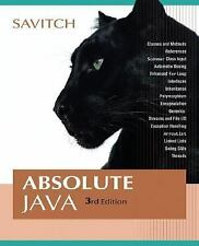 Absolute Java (3rd Edition)-ExLibrary