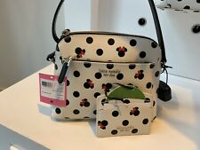 Minnie Mouse Icon Crossbody Bag And Cardholder by kate spade new york In hand