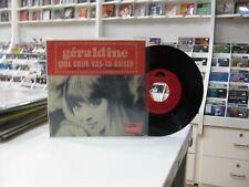 """GERALDINE 7"""" EP SPANISH QUEL COEUR VAS-TU BRISER ? + 3. 1967"""