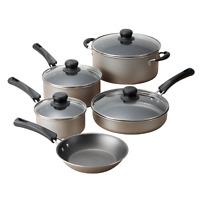 9 Piece Cookware Set Nonstick Pots & Pans Home Kitchen Cooking Non Stick NEW