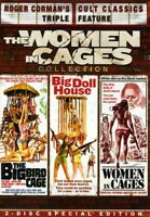 The Big Bird Cage / Big Doll House / Women in Cages (2 Disc) DVD NEW