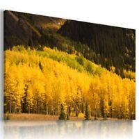 PARADISE LAKE MOUNTAINS View Canvas Wall Art Picture Large SIZES  L150  X MATAGA