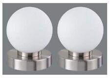 Tischleuchte Nachttischleuchte In WEISS Touchfunktion Im 2er Pack -#6282