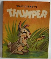 Walt Disney's Thumper vintage Disney book 1945 very cute pictures