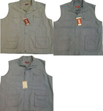 Big & Tall Fishing Polyester Casual Waistcoats for Men