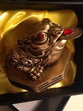 Moon Frog / Money Frog - New In Box - Gold - 57mm