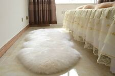 Real New Double Sheepskin Rug Lambskin Rug Runner  SOFT and THICK Floor Rug