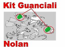 "GUANCIALI INTERNI COMFORT per NOLAN N103 TG."" S-M-L "" ORIGINALE NOLAN SPRCP260"