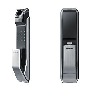 Samsung Biometric Push & Pull Digital Door Lock SHS-P718LMK/EN – (Silver)