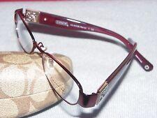 New COACH HC5002B Reina 9028 Berry Eyeglasses #E662