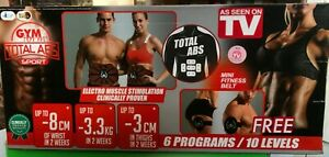 💥HIGH STREET TV GYMFORM TOTAL ABS CORE TONING BELT & STRENGTHENING EMS SYSTEM