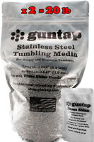 """20 Pounds Stainless Steel Tumbling Media Pins 20lb .047"""" x .255"""" 1.19mm x 6.48mm"""