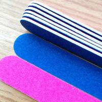 5Pcs Nail Art Sanding File Buffer For Salon Manicure UV Gel Polisher Tool FO