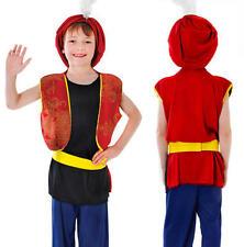 Childrens Kids Arabian Boy Fancy Dress Costume Aladdin Book Week Childs Outfit M