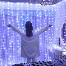3m 100 200 300 LED Curtain String Light Flash Fairy Christmas Garland Decoration