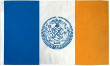 New York City Flag 3 x 5 Foot NYC NY 3x5 Indoor Outdoor