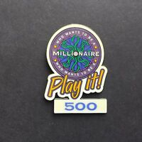 Who Wants to Be a Millionaire: Play it! Set 500 Points - Disney Pin 4562