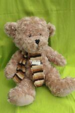 Peluche n°R453 : OURS - Jade soft toys - teddy bear - 33cm (assis)