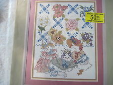 FLOWERS AND ANIMALS - Candamar Something Special Counted Cross Stitch Kit NEW