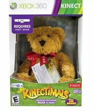 Kinectimals Now With Bears with Limited Edition FAO Bear Plush Xbox 360 Kinect