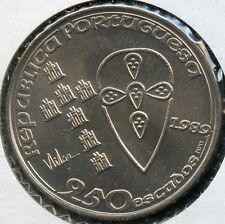 PORTUGAL 1989  250  ESCUDOS   KM-650   COIN YOU DO THE GRADING HAVE FUN