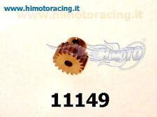 11149 PIGNONE 19 DENTI METALLO MODELLI ELETTRICI MODULO 0.6 MOTOR GEAR HIMOTO