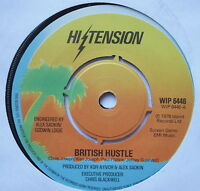 """HIGH TENSION - British Hustle - Excellent Condition 7"""" Single Island WIP 6446"""