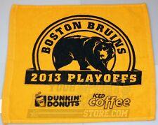 Boston Bruins 2013 NHL Playoffs Rally Towel - Quarterfinals Series Home Game 1