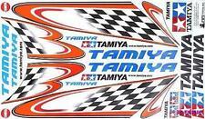 Tamiya 53550 Body Sticker Checker Flag - Type A