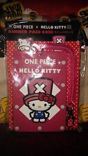 *Party Favor* San-X Hello Kitty ID /DL /Pass Card Case /Travel Name Tag -Red