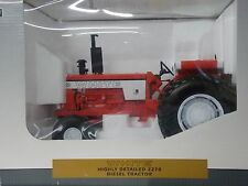 White Highly Detailed 2270 Diesel Tractor