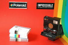 Immagine immediatamente fotocamera camera POLAROID SLR 680 + 3 Impossible Instant Film Films
