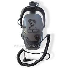 "DetectorPRO Gray Ghost ""Original"" Headphones  Metal Detecting - Free Shipping!!"