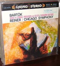 CLASSIC RECORDS 180gm LP LSC 2374: BARTOK - Strings Percussion Celesta REINER SS