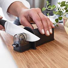 NEW IKEA Kitchen Knife Scissors Sharpener Sharpner Black