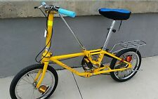 VINTAGE DAHON YELLOW 5 SPEED GETAWAY V FOLDING BIKE BICYCLE