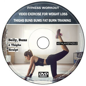 Fitness Workout For Weight Loss DVD Exercises Weight Fat Burner Cardio Abs