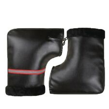 Winter Cycling Bicycle Handlebar Motorcycle Gloves Waterproof  Leather Muffs new