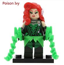 Poison Ivy Batman Movie custom minifigure Fits Lego- TRUSTED UK SELLER