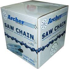 Archer tronçonneuse scie à chaîne 100 ft bobine 3/8 LP.050 1635 drive liens