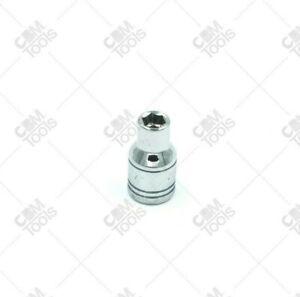 "SK Hand Tools 40703 1/4"" Dr. 5.5mm 6pt Standard Metric Chrome Socket"
