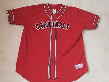 St. Louis Cardinals #5 Pujols Red Mlb Baseball Jersey True Fan Sewn Men Xl