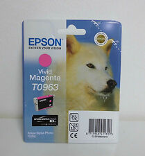 Original Epson stylus photo r2880 vivid magentat 0963
