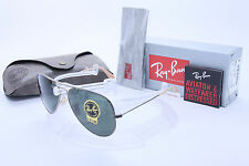 e125b16e1f New Ray Ban Aviator RB3025 177 58mm ANTIQUE Gold w G-15 Green